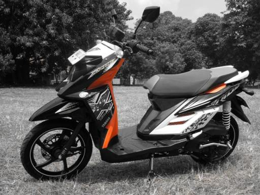 Yamaha X-Ride samping