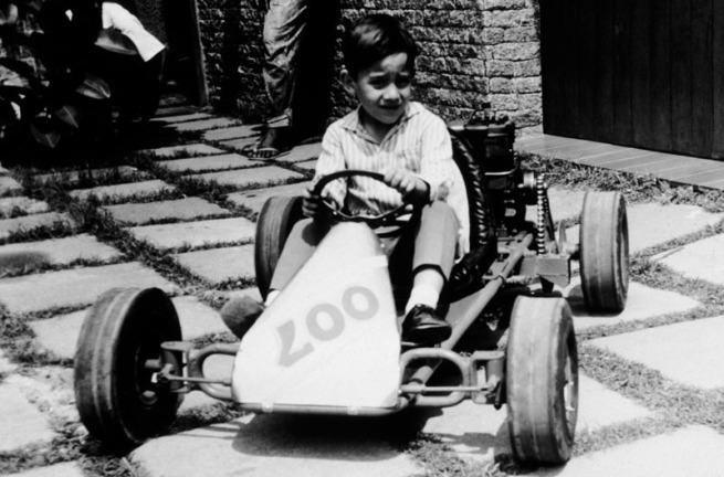 Formula One Childhood Photos